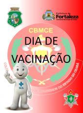 Dia de vacinação no CMCB