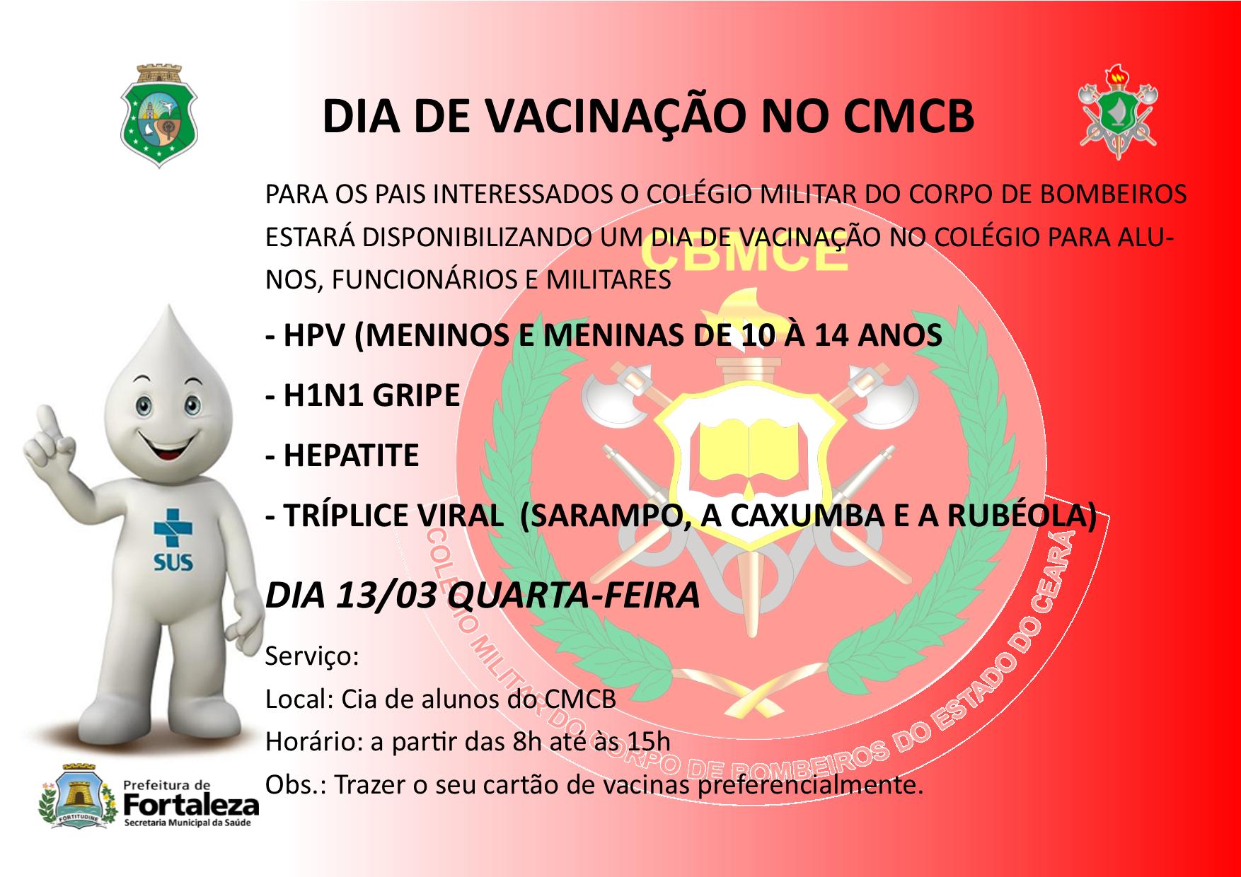 Dia de Vacinação do CMCB