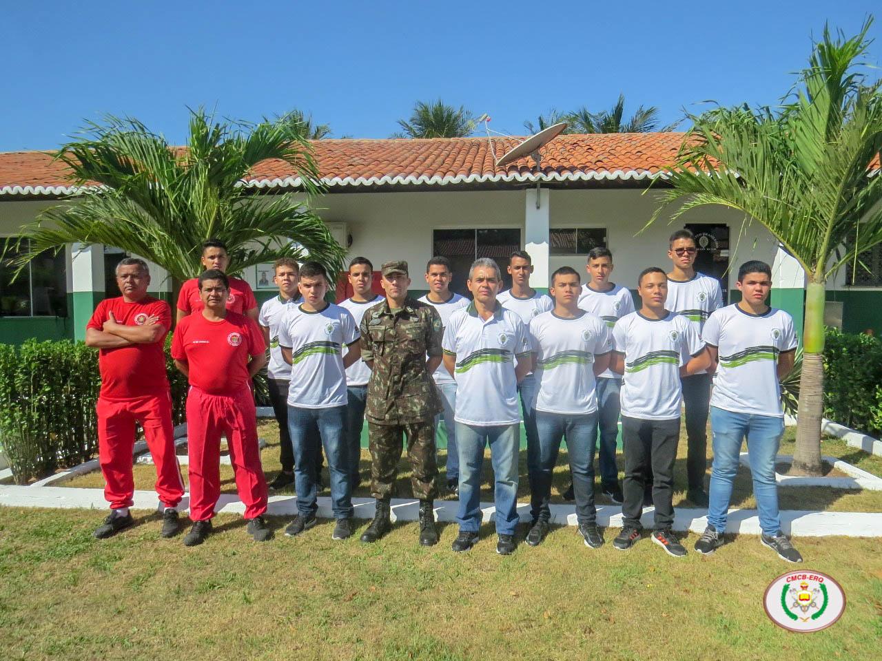 Alunos da EsIM/10ª RM do CMCB visitam os Tiros de Guerra de Camocim e Parnaíba