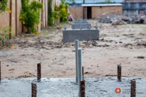 CMCB inicia construção de ginásio poliesportivo
