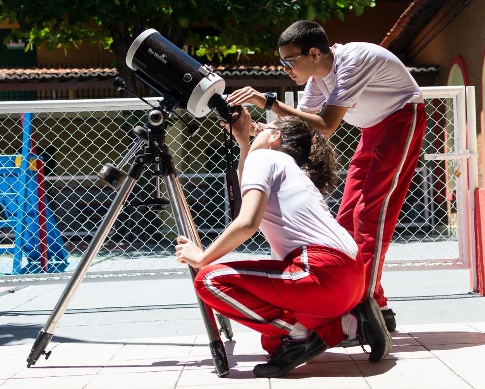 Dez alunos do CMCB participam das seletivas internacionais de Astronomia