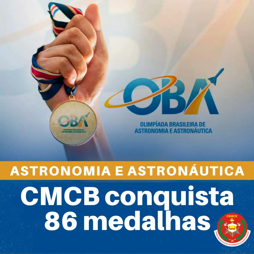 CMCB conquista 90 medalhas em competições nacionais de Astronomia e Astronáutica